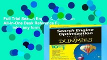 Full Trial Search Engine Optimization All-in-One Desk Reference For Dummies any format