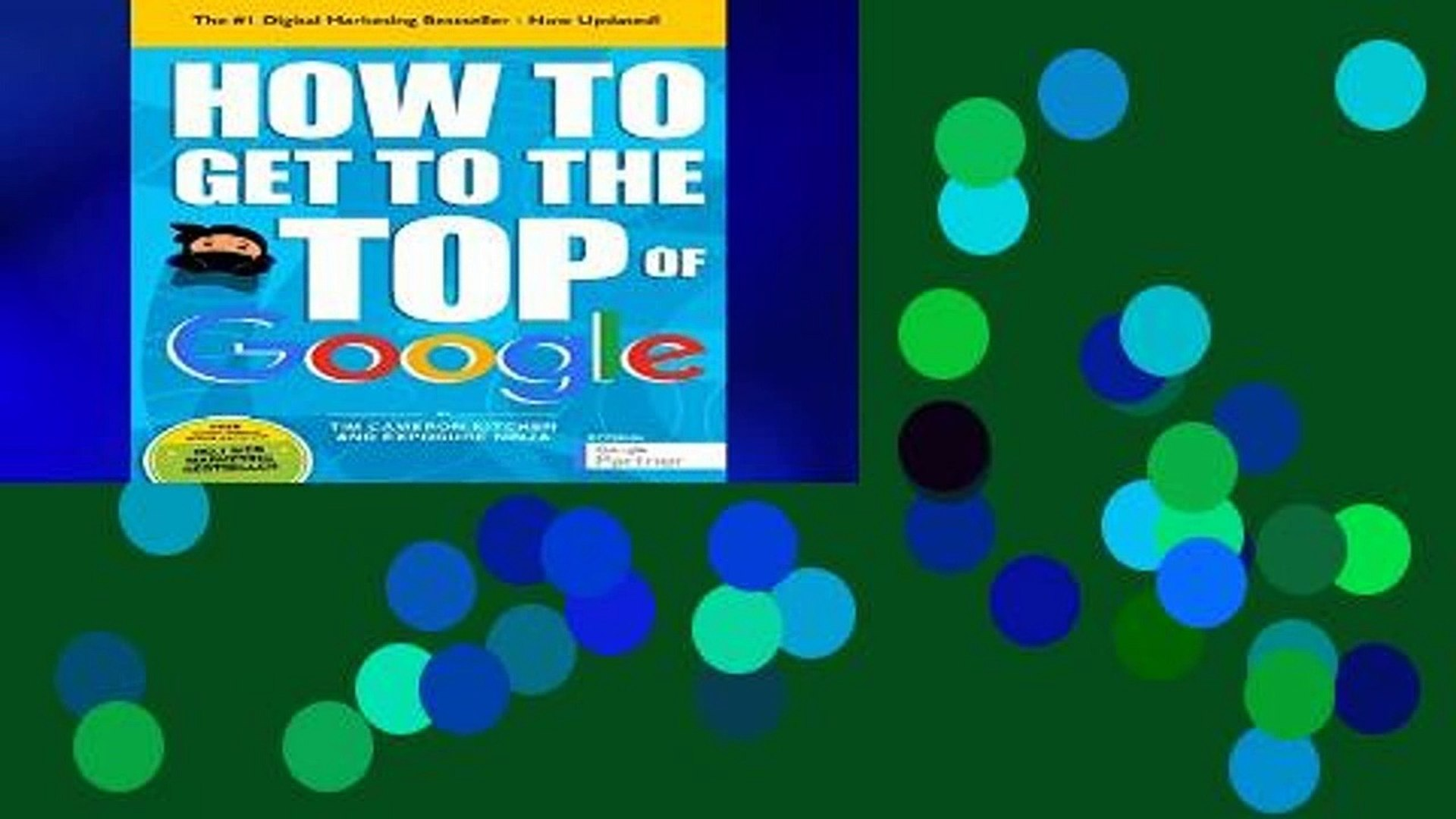 Best E-book How To Get To The Top Of Google: The Plain English Guide To SEO free of charge
