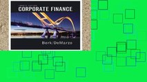 Favorit Book  Corporate Finance (Pearson Series in Finance) Unlimited acces Best Sellers Rank : #5