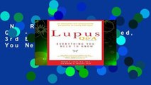 New Releases Lupus Q A - Revised and Updated, 3rd Edition : Everything You Need to Know  For