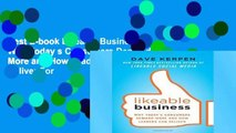 Best E-book Likeable Business: Why Today s Consumers Demand More and How Leaders Can Deliver For