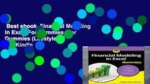 Best ebook  Financial Modeling in Excel For Dummies (For Dummies (Lifestyle))  For Kindle