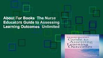 About For Books  The Nurse Educators Guide to Assessing Learning Outcomes  Unlimited