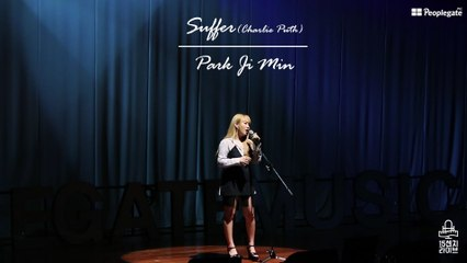 "[15cm LIVE] 무더위도 날려버릴 시원한 가창력! 박지민(Park Ji Min)의 ""Suffer-Charlie Puth"" COVER STAGE!"