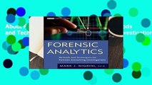About For Books  Forensic Analytics  Methods and Techniques for Forensic Accounting Investigations