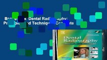 Best ebook  Dental Radiography: Principles and Techniques Complete