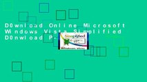 D0wnload Online Microsoft Windows Vista Simplified D0nwload P-DF