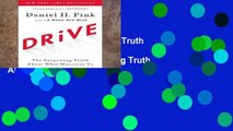 View Drive: The Surprising Truth About What Motivates Us Ebook Drive: The Surprising Truth About