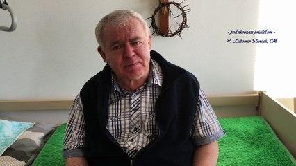 P. Ľubomír Stanček, CM - poďakovanie priateľom