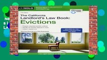 New Releases The California Landlord s Law Book: Evictions (California Landlord s Law Book Vol 2