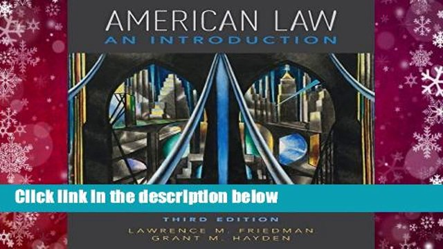 Full version  American Law: An Introduction  Best Sellers Rank : #2