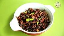 लाल माठाची भाजी - Lal Mathachi Bhaji in Marathi - Quick & Healthy Leafy Vegetable Recipe - Archana