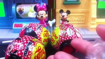 Chupa Chups Toys Surprise Minnie Mouse Chupa Chups Surprise Kinder Eggs Lollipops Candies
