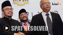 Asri-Ramasamy spat resolved after meeting with minister
