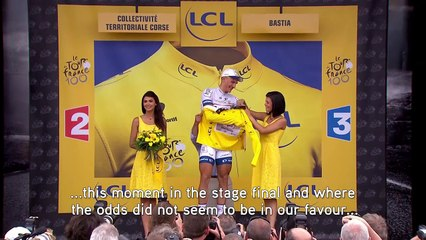 #InsideOut at #TDF2018  Tom Veelers GT coaching debut