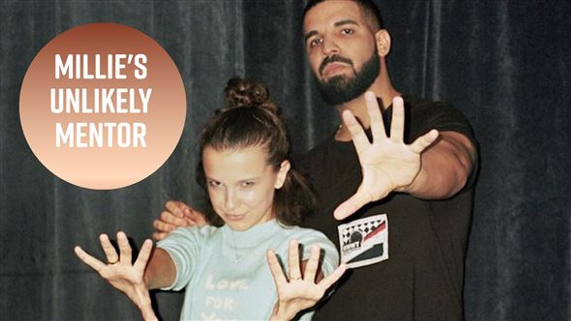 Millie Bobby Brown gets life advice from Drake 'all the time'