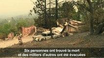 Incendies mortels en Californie: les évacués témoignent