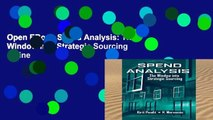 Open EBook Spend Analysis: The Window into Strategic Sourcing online