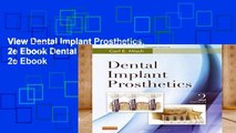 View Dental Implant Prosthetics, 2e Ebook Dental Implant Prosthetics, 2e Ebook