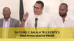 'Go to hell', CS Balala tells critics amid rhino deaths probe