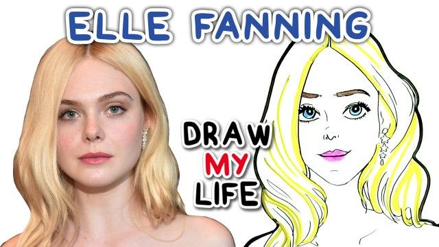 Elle Fanning || Draw My Life