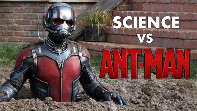 Science Versus Ant-Man