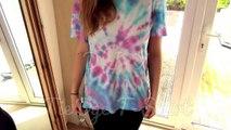 DIY Tie Dye T Shirts for Summer