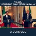 Giuseppe Conte - Il suggerimento del Presidente Donald J. Trump sull'Italia - MoVimento 5 Stelle