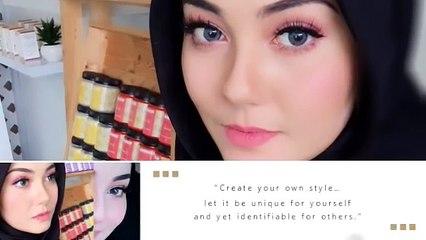 Barbie Makeup for Hijab