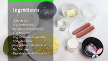 Comment faire une calzone au fromage et à la saucisse