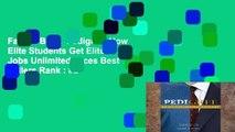Favorit Book  Pedigree: How Elite Students Get Elite Jobs Unlimited acces Best Sellers Rank : #2
