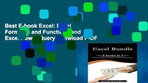 Best E-book Excel: Excel Formulas and Functions and Excel Power Query D0nwload P-DF