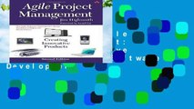 New Releases Agile Project Management: Creating Innovative Products (Agile Software Development)