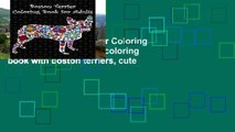 Popular  Boston Terrier Coloring Book for Adults: Adult coloring book with boston terriers, cute