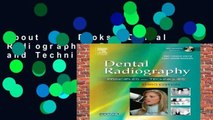 About For Books  Dental Radiography: Principles and Techniques  Unlimited