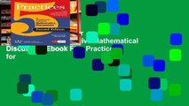 View Five Practices for Orchestrating Productive Mathematical Discussion Ebook Five Practices for