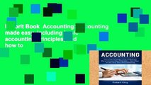 Favorit Book  Accounting: Accounting made easy, including basic accounting principles, and how to