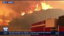 En Californie, les pompiers ne parviennent pas à venir à bout des flammes