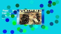 Popular  Vogue 1950s Adult Coloring Book: 50s Fashion Coloring Book for Adults: Volume 64