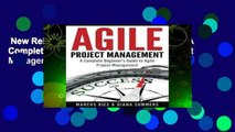 New Releases Agile Project Management: A Complete Beginner s Guide To Agile Project Management