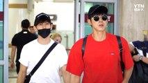 [Y영상] 동방신기, 공항 가득 메운 팬들...'변함없는 인기' / YTN