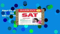 About For Books  SAT, 29th Ed w/online test (Barron s Sat) Complete