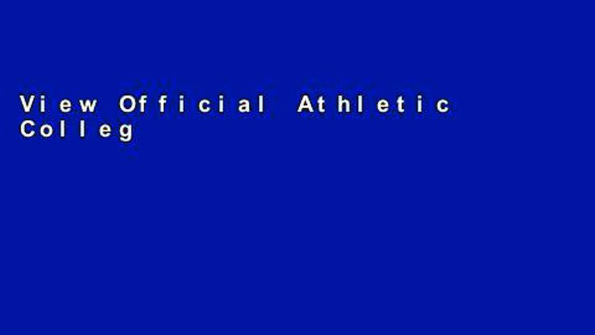 View Official Athletic College Guide: Mens Soccer Ebook Official Athletic College Guide: Mens