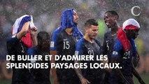 """PHOTOS. Les vacances des Bleus : Antoine Griezmann a une """"coach"""" trop chou, Benjamin Pavard et Rachel Legrain-Trapani s'éclatent"""
