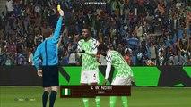 Nigeria vs Argentina HighLight | MESSI GOAL PES 2018 PC GamePlay