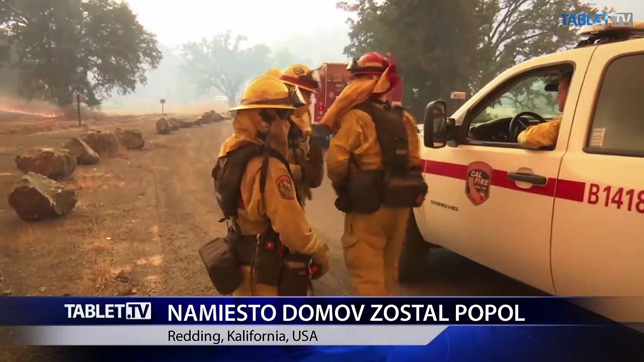Požiare na severe Kalifornie premenili stovky domov na popol