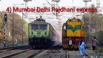 Top 10 fastest trains in india || Indian Railways
