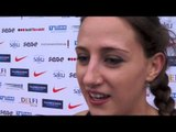 Karla Drew (GBR) after the first day at EC Combined Events Super League, Tallinn 2013