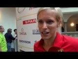 Verena Sailer after pressconference