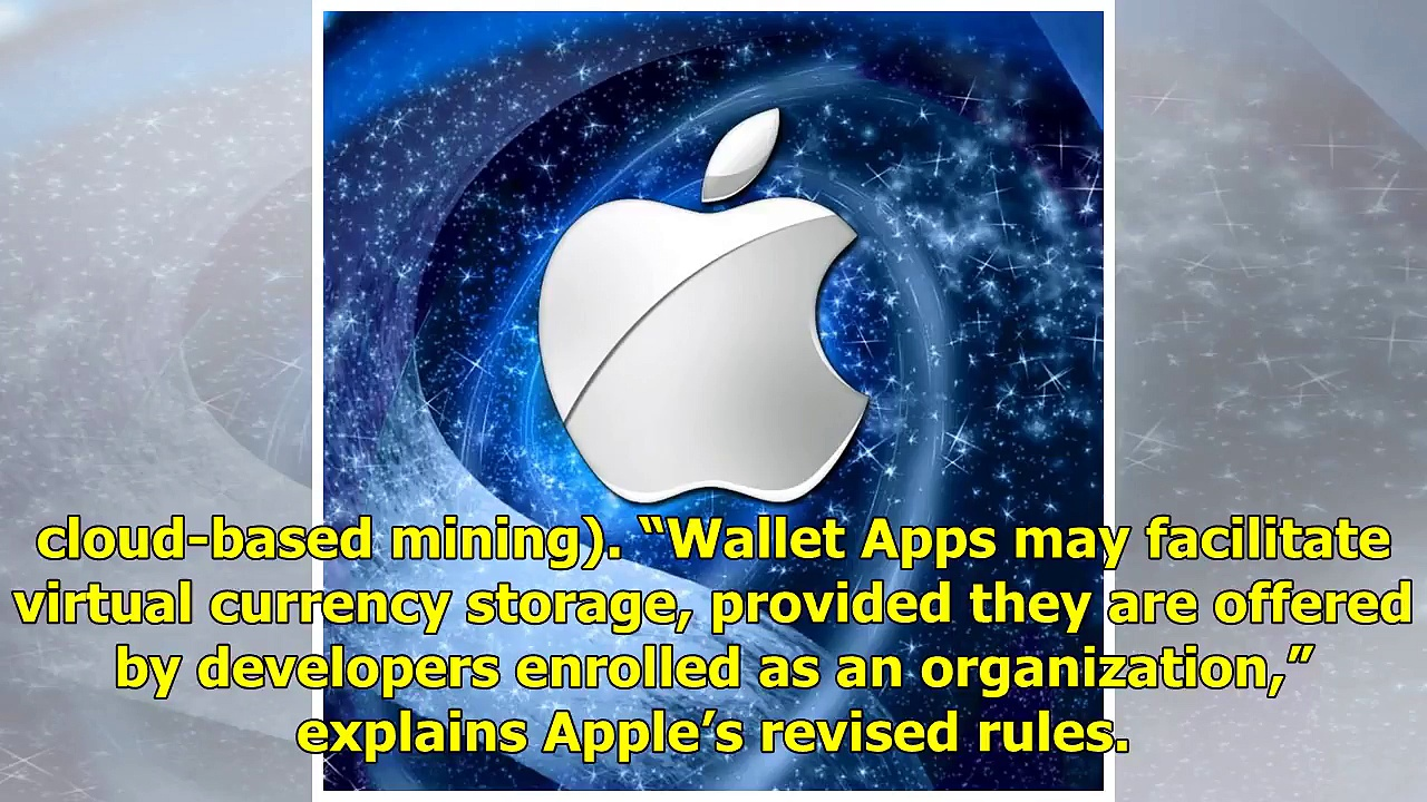 Apple's App Store Revises Cryptocurrency App Rules – Bitcoin News